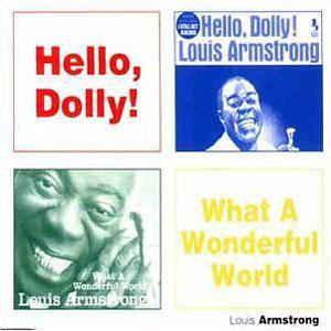 Album  Cover Louis Armstrong - What A Wonderful World on [RCA] RCA Records from 1970