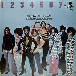 Album  Cover The 8th Day - I Gotta Get Home on INVICTUS Records from 1972