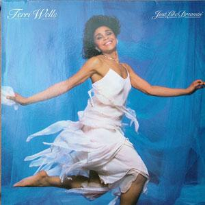 Front Cover Album Terri Wells - Just Like Dreamin'