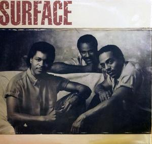 Album  Cover Surface - Surface on COLUMBIA Records from 1986