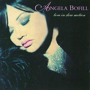 Album  Cover Angela Bofill - Love In Slow Motion on EXPANSION Records from 1996