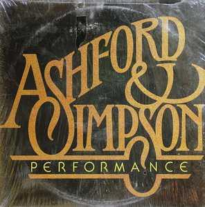 Album  Cover Ashford & Simpson - Performance on WARNER BROS. Records from 1981