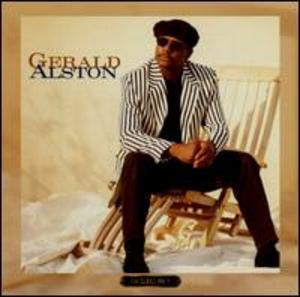 Album  Cover Gerald Alston - First Class Only on VOLCANO Records from 1994