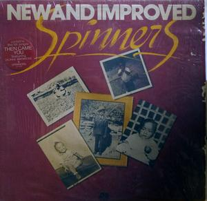 Front Cover Album The Spinners - New And Improved Spinners
