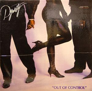 Album  Cover Dynasty - Out Of Control on SOLAR Records from 1988