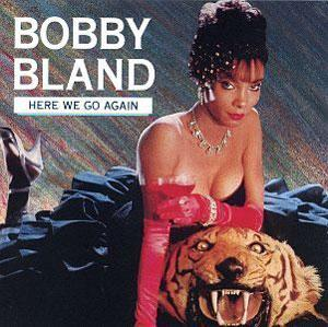 Album  Cover Bobby Bland - Here We Go Again on MCA Records from 1982