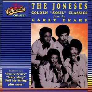 Front Cover Album The Joneses - Golden Soul Classics