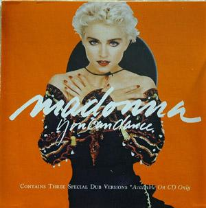 Front Cover Album Madonna - You Can Dance