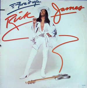 Front Cover Album Rick James - Fire It Up