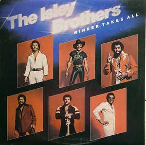 Front Cover Album The Isley Brothers - Winners Takes It All