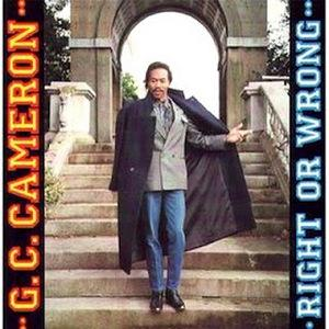 Album  Cover G.c. Cameron - Right Or Wrong on MOTOR CITY Records from 1991