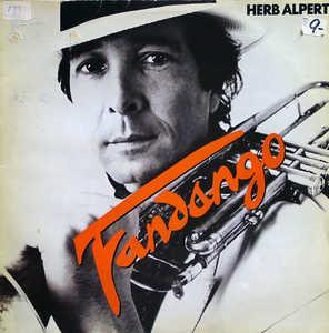 Album  Cover Herb Alpert - Fandango on A&M Records from 1982