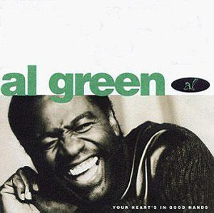 Album  Cover Al Green - In Good Hands on MCA Records from 1995