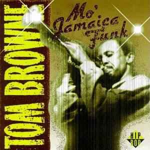 Album  Cover Tom Browne - Mo' Jamaica Funk on HIP BOP Records from 1994