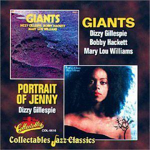 Album  Cover Dizzy Gillespie - Giants on PERCEPTION Records from 1971