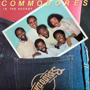 Album  Cover Commodores - In The Pocket on MOTOWN Records from 1981