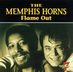 Album  Cover Memphis Horns - Flame Out on LUCKY SEVEN Records from 1992