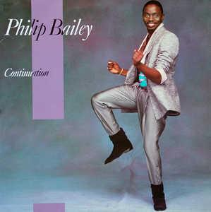 Album  Cover Philip Bailey - Continuation on CBS Records from 1983