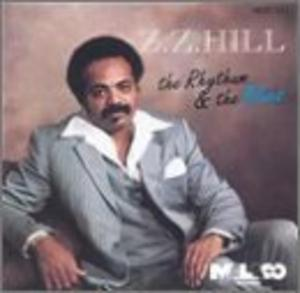 Album  Cover Z.z. Hill - The Rhythm And The Blues on MALACO Records from 1983