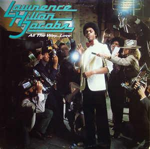 Front Cover Album Lawrence Hilton Jacobs - All The Way...Love