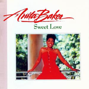 Album  Cover Anita Baker - Sweet Love on ELEKTRA Records from 1989