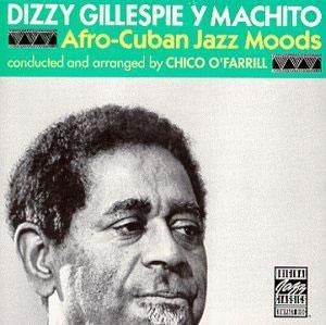 Album  Cover Dizzy Gillespie - Afro-cuban Jazz Moods on ORIGINAL JAZZ Records from 1975
