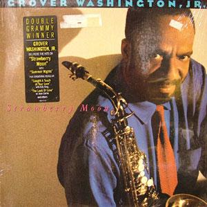 Album  Cover Grover Washington Jr - Strawberry Moon on COLUMBIA Records from 1987