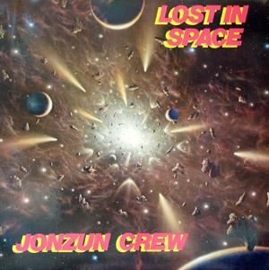 Front Cover Album Jonzun Crew - Lost In Space