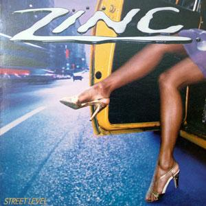 Album  Cover Zinc - Street Level on JIVE Records from 1982