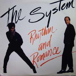 Front Cover Album The System - Rhythm & Romance