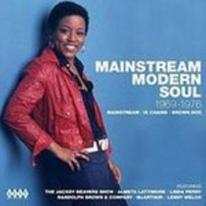 Album  Cover Various Artists - Mainstream Modern Soul - 1969 - 1976 on KENT Records from 2016
