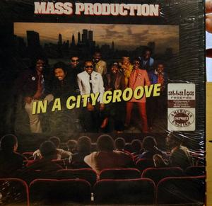 Album  Cover Mass Production - In A City Groove on COTILLION Records from 1982
