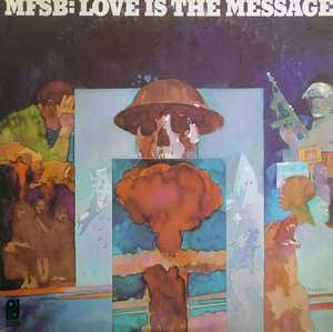 Front Cover Album Mfsb - Love Is The Message