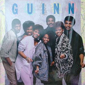 Album  Cover Guinn - Guinn on MOTOWN Records from 1986