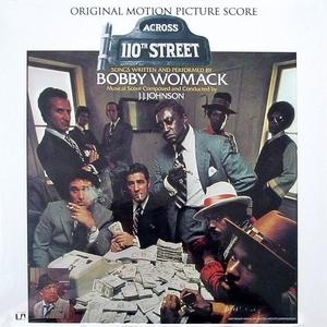 Album  Cover Bobby Womack - Across 110th Street on UNITED ARTISTS Records from 1972