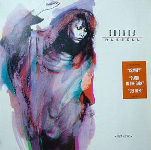 Album  Cover Brenda Russell - Get Here on A&M Records from 1988
