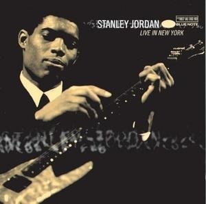 Album  Cover Stanley Jordan - Live In New York on BLUE NOTE Records from 1998