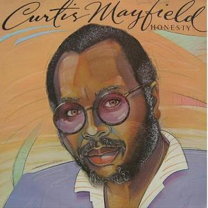 Album  Cover Curtis Mayfield - Honesty on BOARDWALK Records from 1983