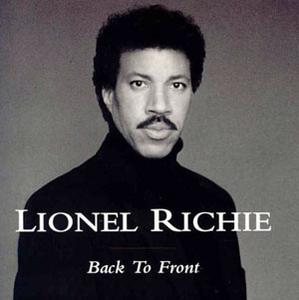 Album  Cover Lionel Richie - Back To Front on MOTOWN Records from 1992