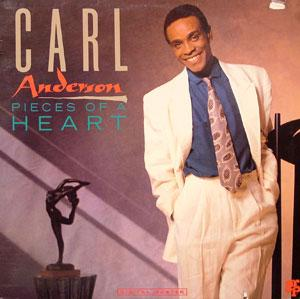 Album  Cover Carl Anderson - Pieces Of A Heart on GRP Records from 1990