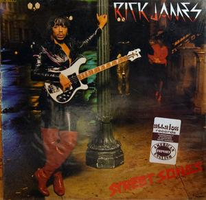 Album  Cover Rick James - Street Songs on GORDY Records from 1981