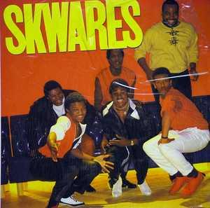 Album  Cover Skwares - Skwares on COTILLION Records from 1984