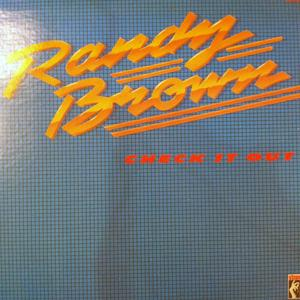 Front Cover Album Randy Brown - Check It Out