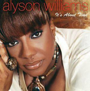 Album  Cover Alyson Williams - It's About Time on EXPANSION RECORDS Records from 2004