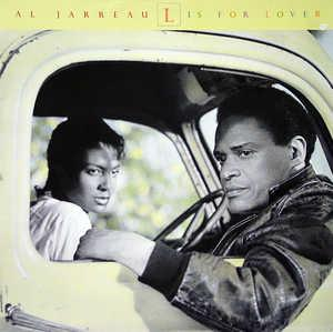 Front Cover Album Al Jarreau - L Is For Lover