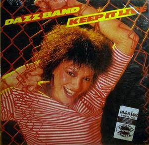 Front Cover Album The Dazz Band - Keep It Live