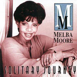Front Cover Album Melba Moore - Solitary Journey