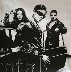 Album  Cover Total - Total on ARISTA Records from 1996