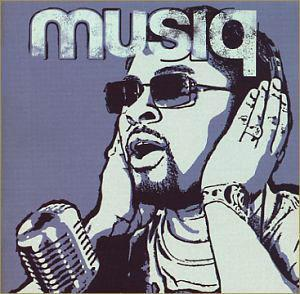 Album  Cover Musiq Soulchild - Juslisen on DEF SOUL Records from 2002