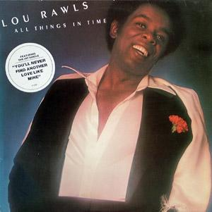 Album  Cover Lou Rawls - All Things In Time on PHILADELPHIA INTERNATIONAL Records from 1976